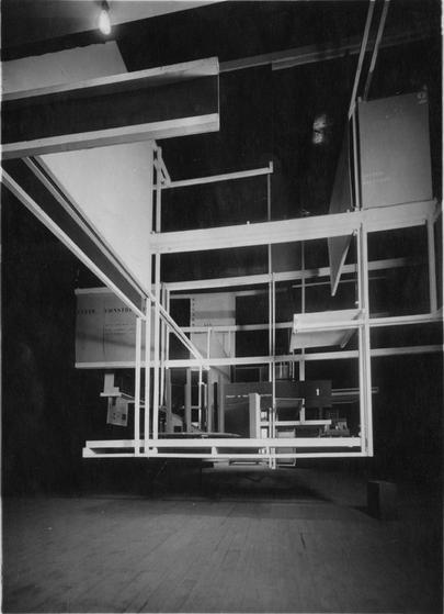 Friedrich Kiesler, Raumstadt, Paris, 1925